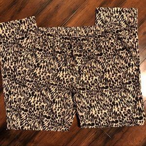 marc new york andrew marc leopard pants